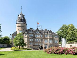 Hauptfassade © Fürstliches Residenzschloss Detmold