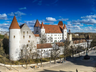 Neues Schloss Ingolstadt - Panoramabild © Bayerisches Armeemuseum / Erich Reisinger