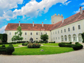 Innenhof © Schloss Ennsegg / Max Homolka