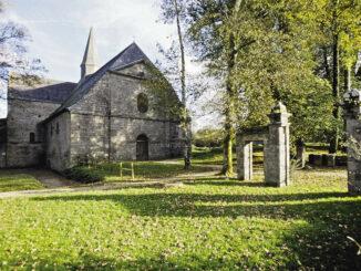 Abbaye du Relec - Abteikirche und Park © Bernard Galeron / CDP-29