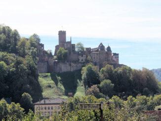 Burg Wertheim - Gesamtansicht