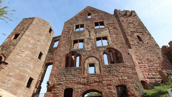 Burg-Wertheim_Fassade-Palas_3622