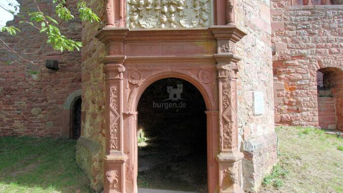 Burg-Wertheim_Steinmetzarbeiten-Torbogen_3631