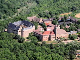 Anlage aus der Vogelperspektive © Burg- und Schloss Allstedt