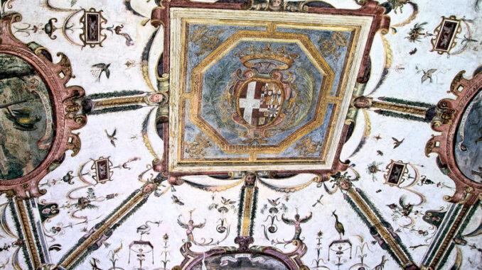 Castello-Principi-dAcaia-di-Fossano_Deckenfresco-Sala-delle-grottesche_c-Castello-Principi-dAcaia-di-Fossano_800