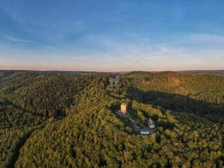 Ginsburg - Luftbild © Meteo Siegerland