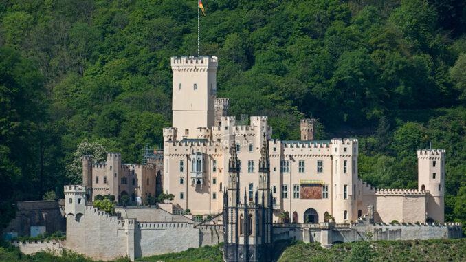 Fernansicht Schloss Stolzenfels am Rhein