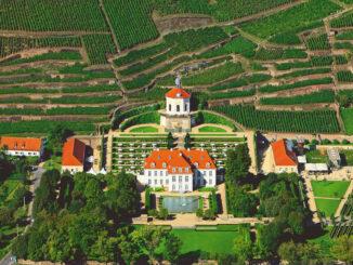 Luftbild © Schloss Wackerbarth