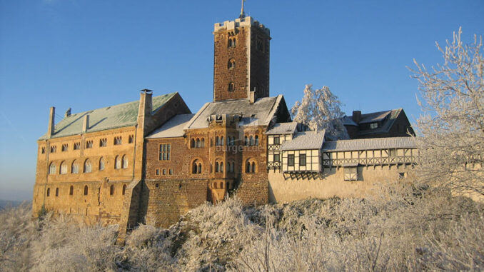Zauberhafte Winterstimmung © Wartburg-Stiftung