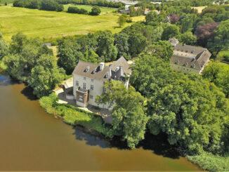 Luftbild © Burg Boetzelaer