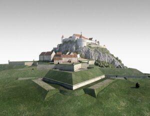 Gesamtmodell Festung Hohentwiel ©Foto abb2-SSG