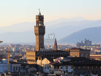 Palazzo Vecchio - Palast im Abendlicht © Daniela Ramirez Manoosalva / Pixabay