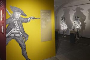 """Räuber"" im Landesmuseum Koblenz in 2021© GDKE"
