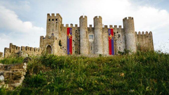 Das-mittelalterliche-Castelo-de-Obidos