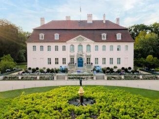 Schloss Branitz - Hauptfassade © SFPM / Christiane Schleifenbaum