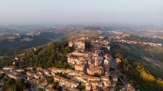 Castello Reale di Govone aus der Luft © Castello Reale di Govone