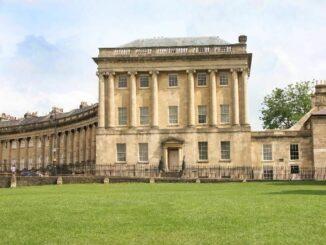 No.1 RoyalCrescent Hauptfassade © Bath Preservation Trust