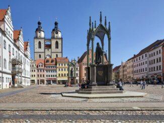 Marktplatz in Wittenberg * Foto: R.Rossner/Deutsche Stiftung Denkmalschutz