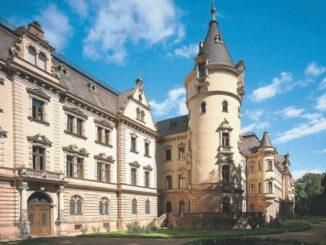 Schloss St. Emmeram Südflügel © Fürst Thurn und Taxis Hofbibliothek