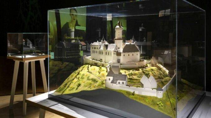 Ausstellung Ritter und Burgen Ich baue eine Burg © Landesmuseum Hannover