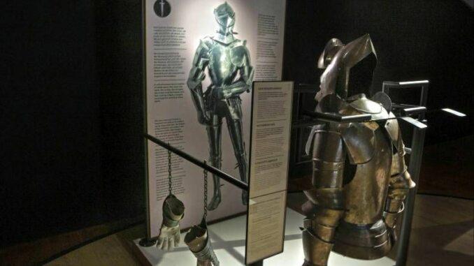 Ausstellung Ritter und Burgen Ritterrüstung © Landesmuseum Hannover