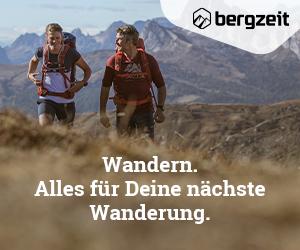 Banner : bergzeit Wandern : 300x250