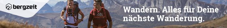 Banner : bergzeit Wandern : 728x90